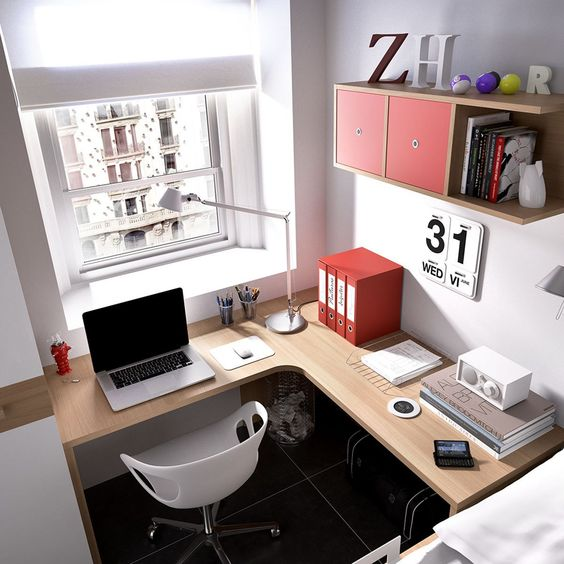 small apartment home office
