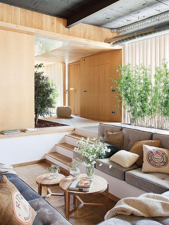 pit living room