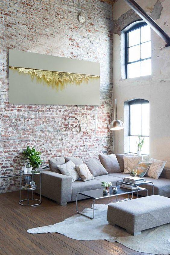 chic industrial interiors
