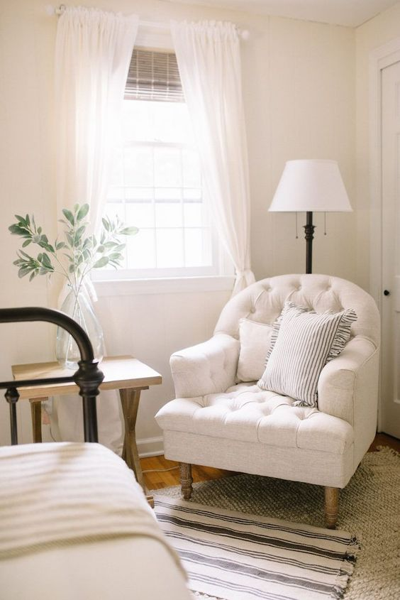 a bedroom nook