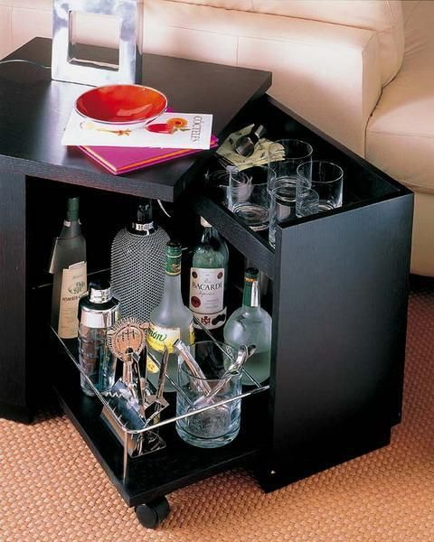 portable mini bar