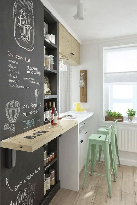 small kitchen bar