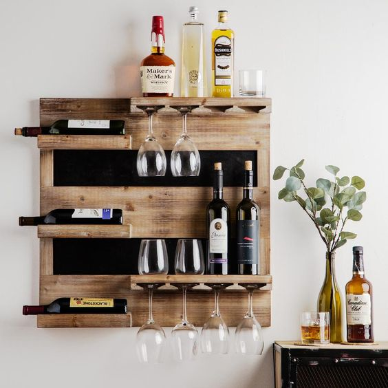 wall mini bar