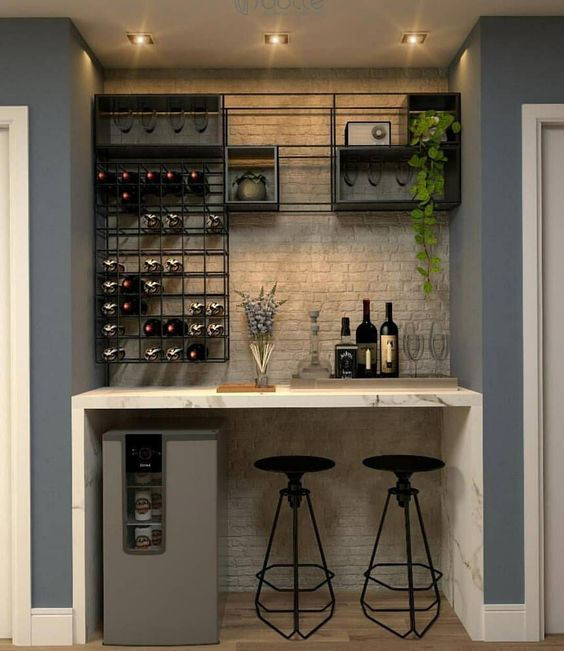 Lounge Home Ideas: 35 Outstanding Home Bar Ideas And Designs