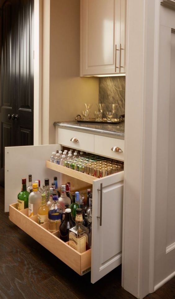 bottle drawers