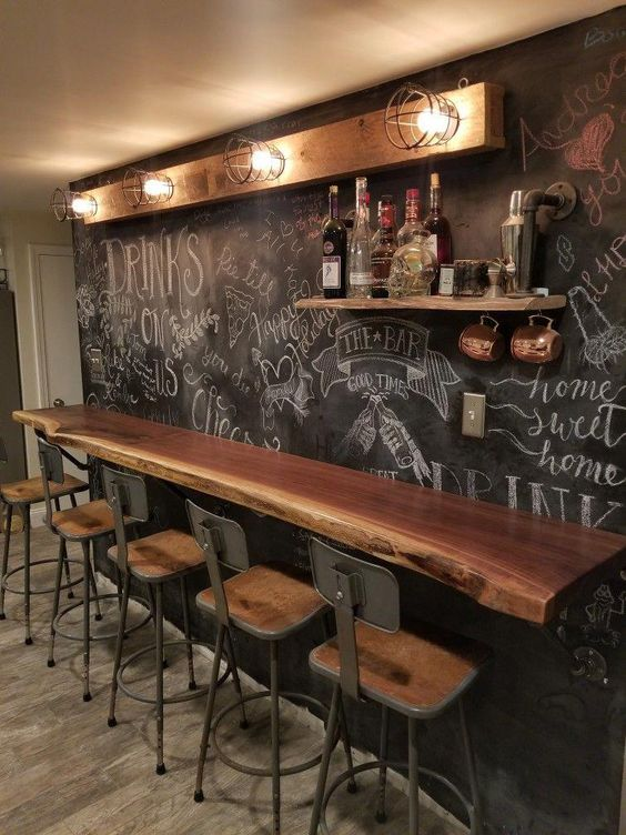 35 Outstanding Home Bar Ideas And Designs