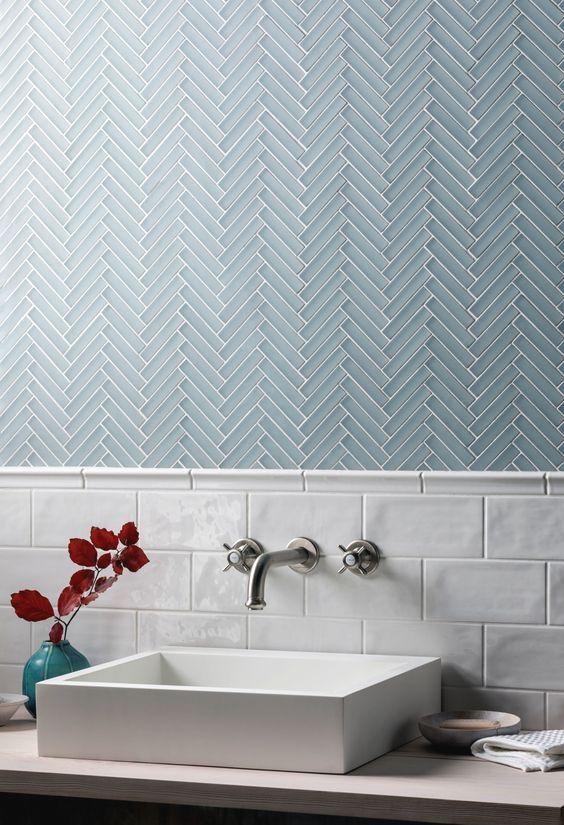 glacier glass bathroom tiles