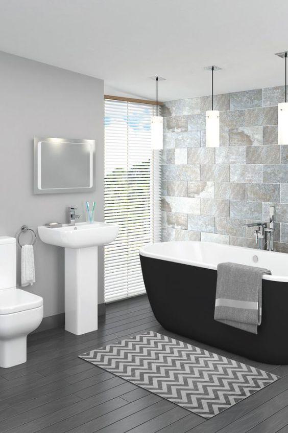 modern classy bathroom