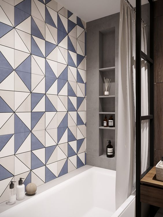 Bathroom Tiles Design >> 40 Modern Bathroom Tile Designs And Trends Renoguide