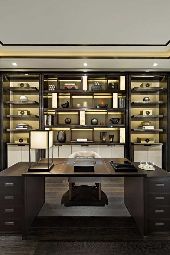 classic home office