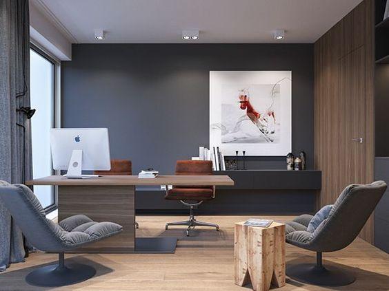 classy modern home office