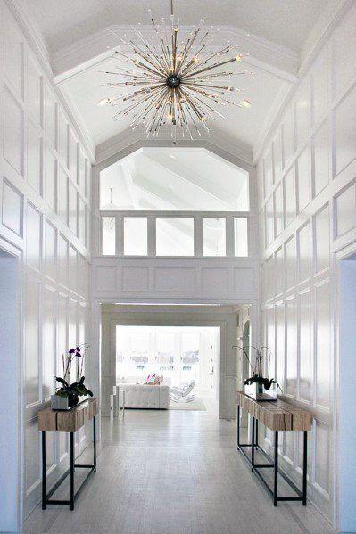 classic white foyer