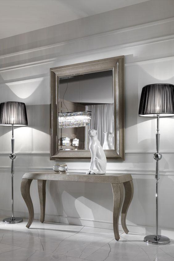 45 Impressive Foyer Ideas And Designs, Mirrored Hall Table Australia