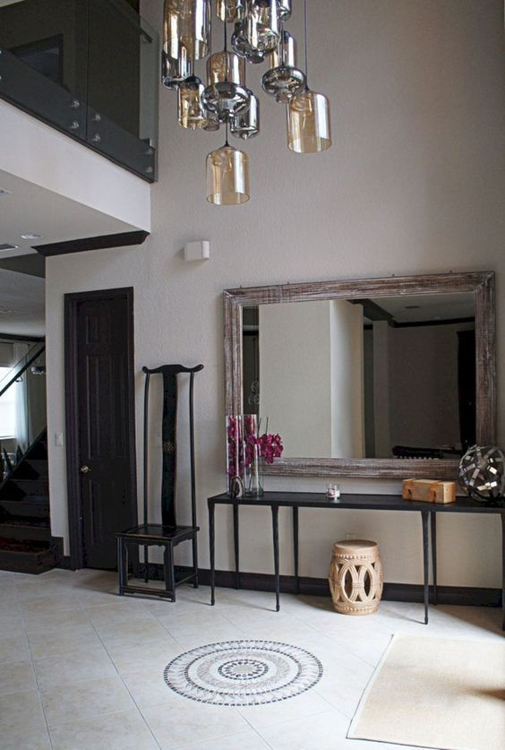 goth style foyer