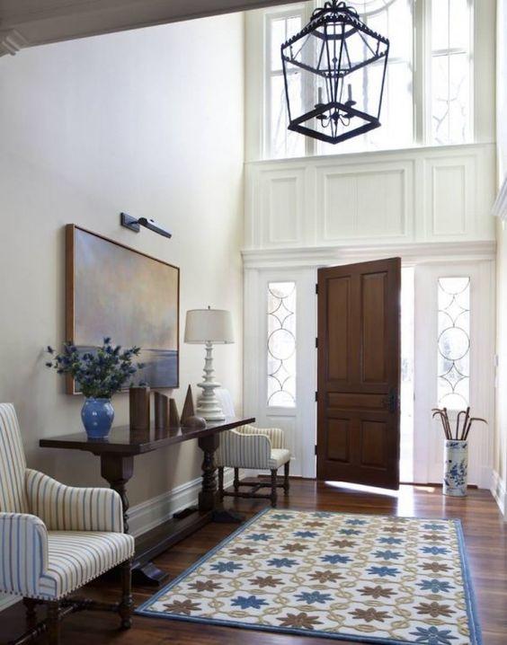 charming classic foyer
