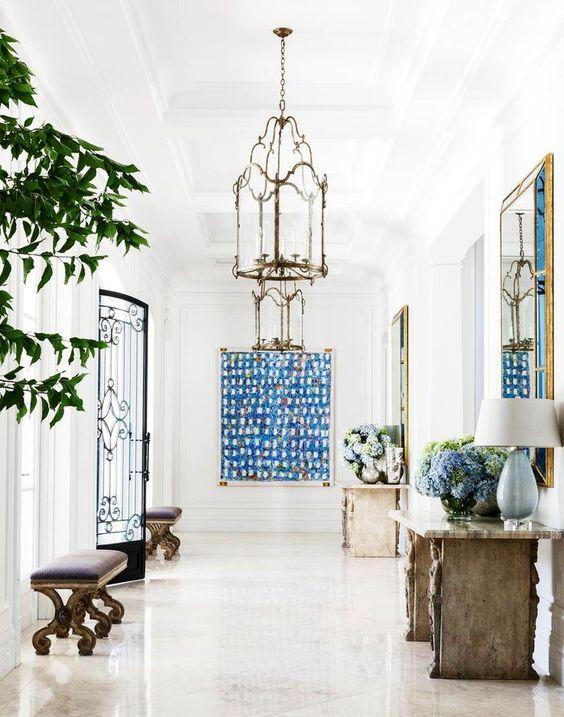 beautiful european foyer