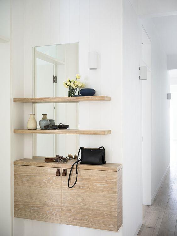 small apartment foyer