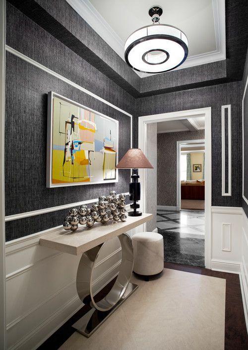 elegant modern foyer