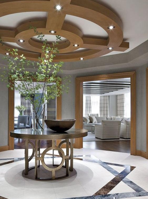 luxurious rotunda foyer