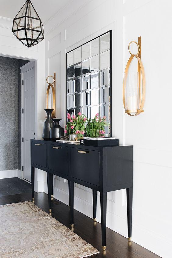 chic stylish foyer