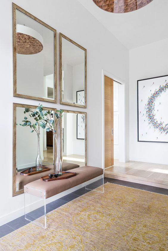 stylish foyer