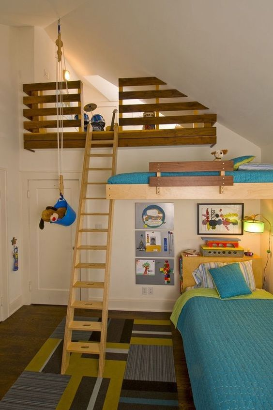 treehouse kids bedroom
