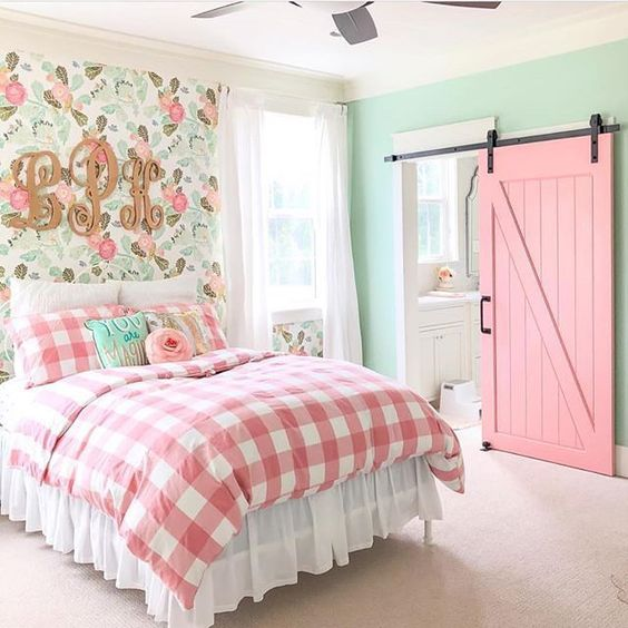 farmhouse themed bedroom