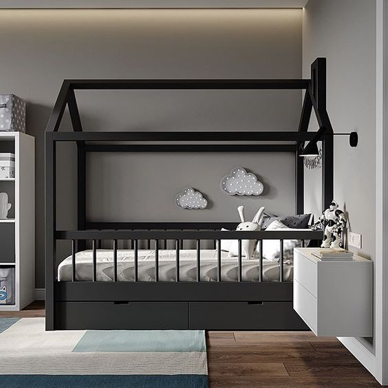 modern minimalist kids bedroom