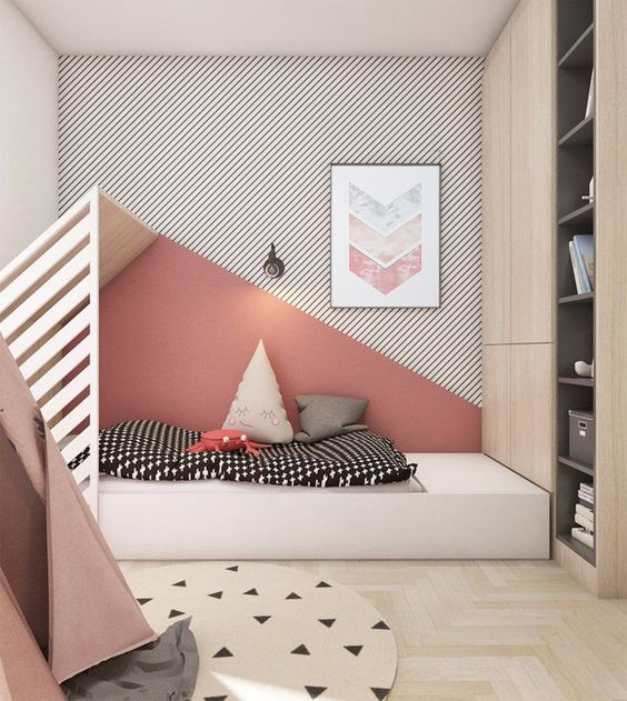 modern minimalist childs bedroom