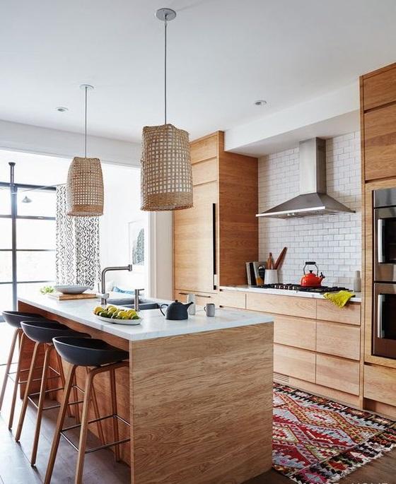 charming rustic kitchen