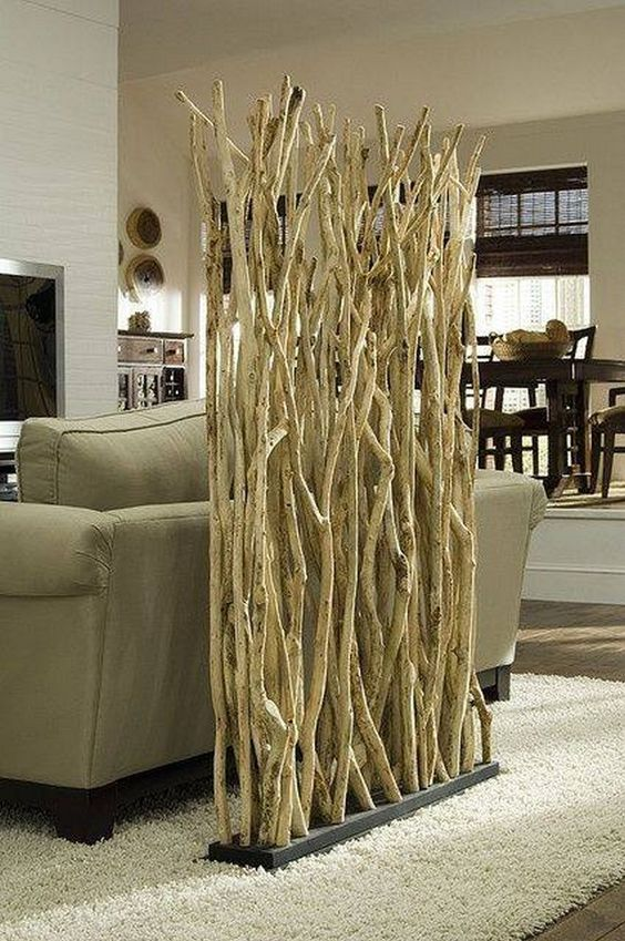 driftwood room divider