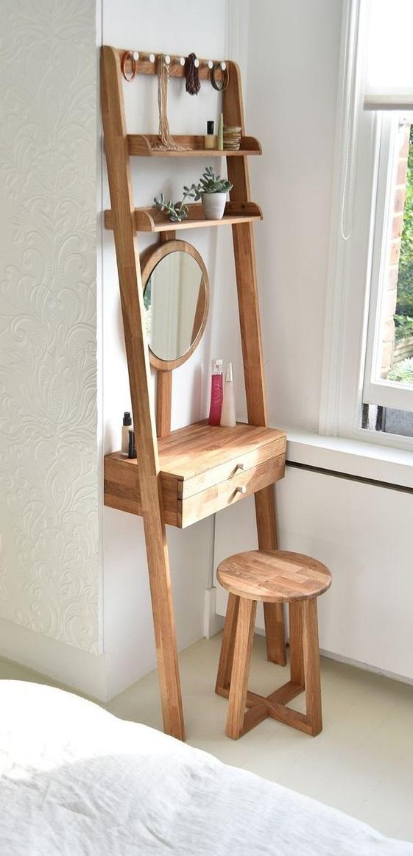 diy ladder dresser