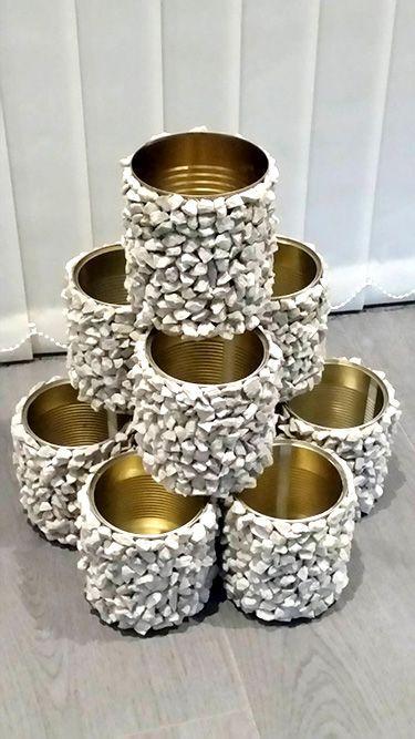 graveled tin