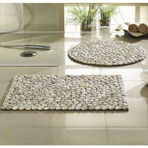 bathroom stone mat