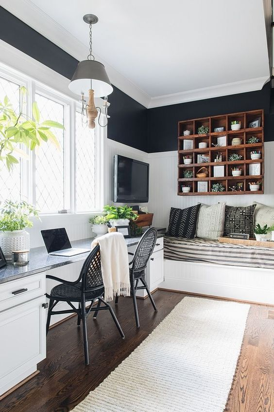 45 Home Office For Couples Ideas And Designs Renoguide Australian Renovation Ideas And Inspiration