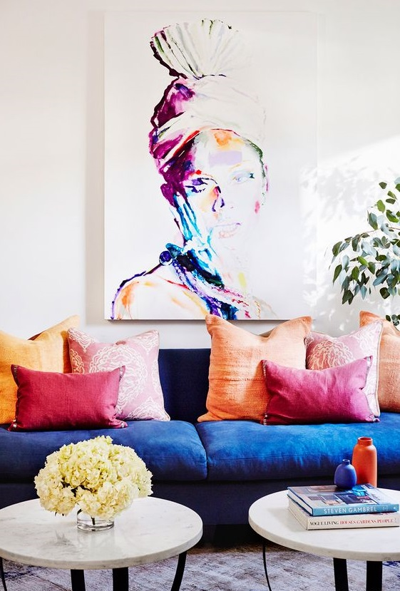 35 Colourful Living Room Ideas And, Colorful Living Rooms