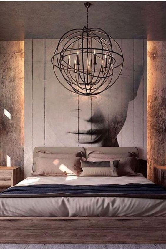 wood wall accent