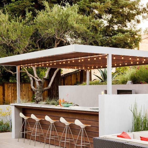 backyard bbq bar