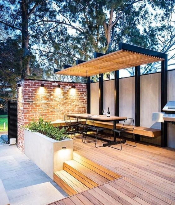 40 Amazing Outdoor Dining Area Ideas, Outdoor Dining Ideas