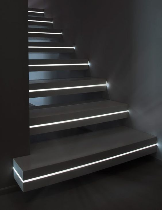 black marble stairs