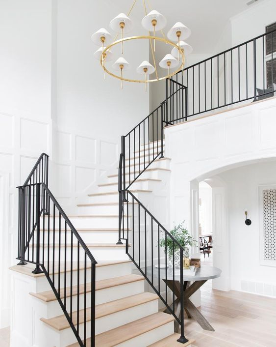 white foyer