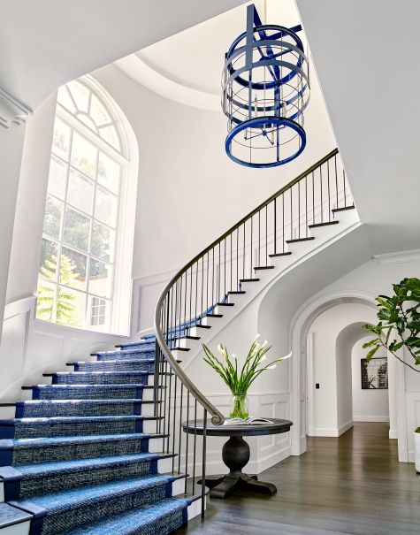 elegant grand foyer