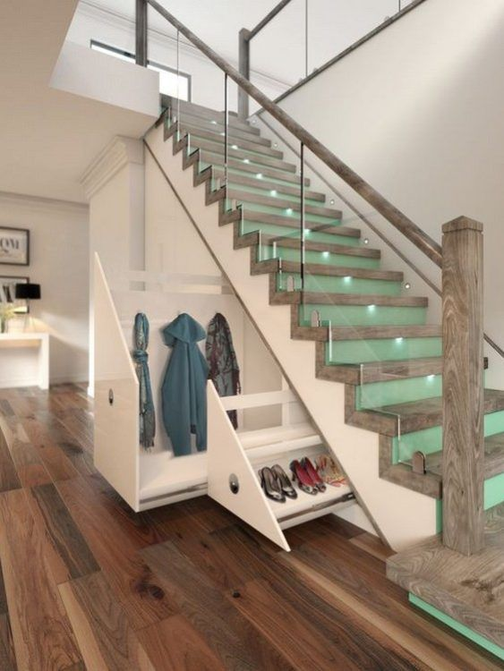 modern cottage foyer