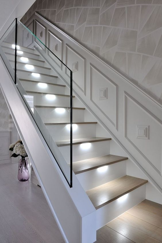 stairs riser lights