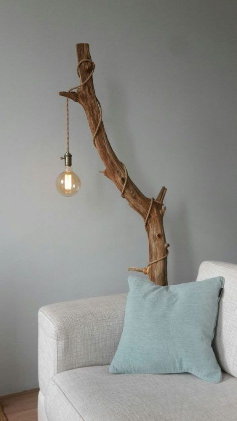 branch lampstand