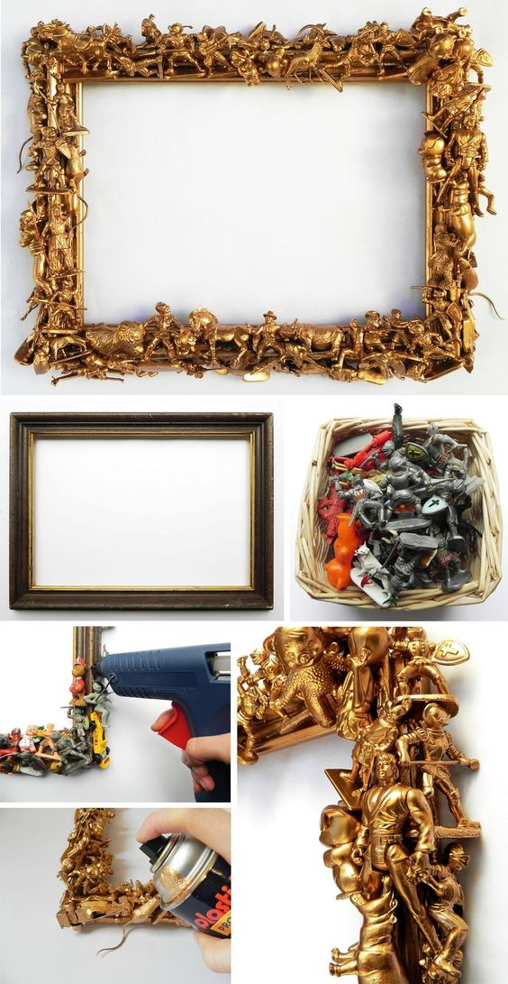 toy lined frame