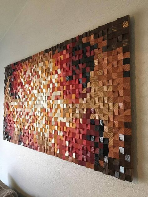 wood wall feature