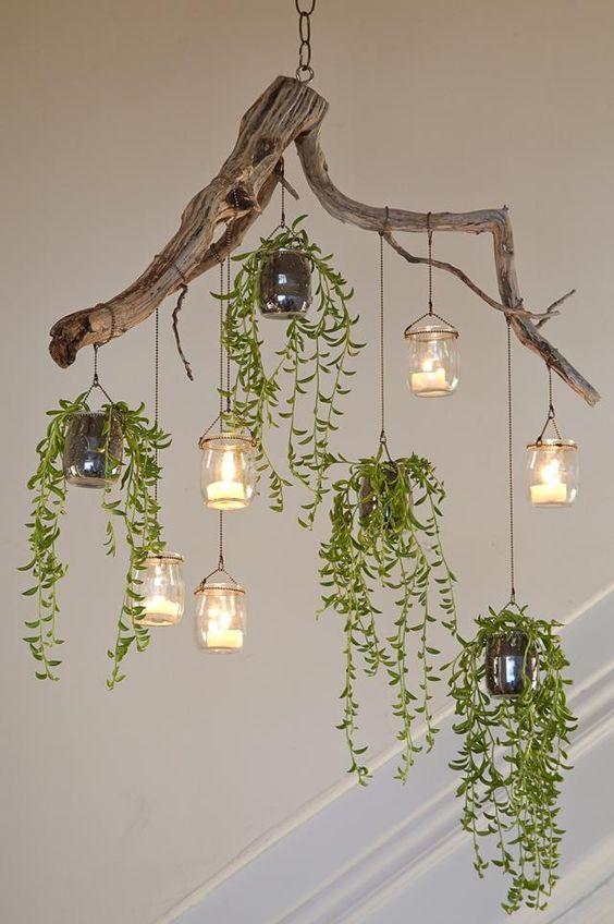 driftwood chandelier