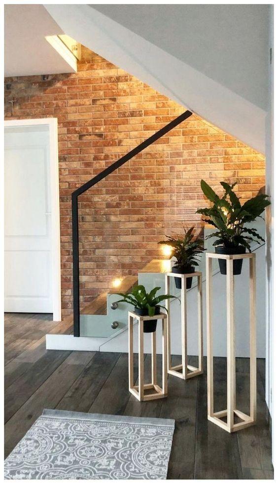 minimalist planter pedestal