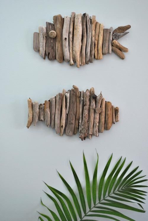 driftwood fish feature